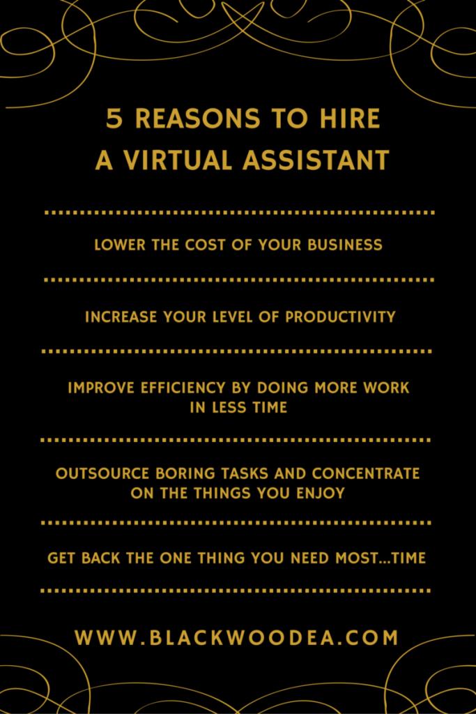 5 reasons to hire a VA