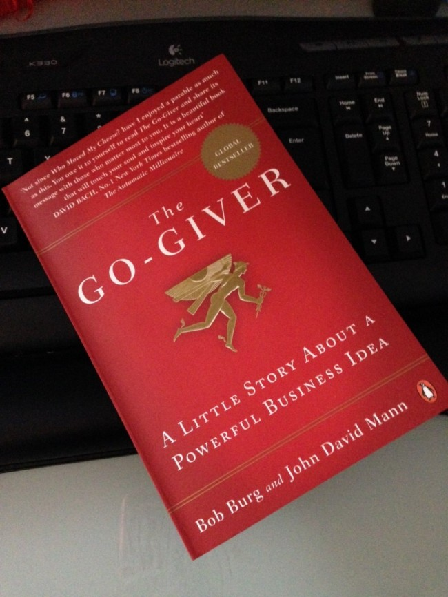 """the go giver book report This book, the go-giver by bob burg and john david mann, was  they're glad  to sell you their """"special report"""", or their magic strategy that."""